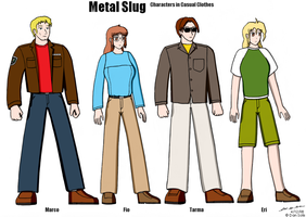 Metal Slug - Civilian Clothing by BoggeyDan