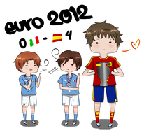 Euro 2012 Final ~ by OishiiTaco