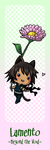 Teeny Asato Bookmark by MorphineRx