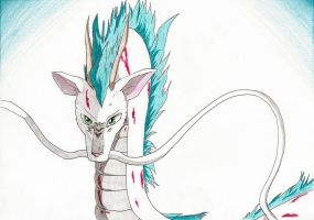 Spirited Away - Haku by IcelectricSpyro