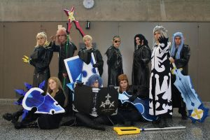 Otakuthon 2011 - Xemnas - Ten of us by AmetystKing