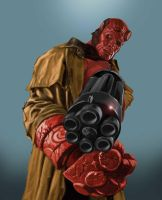 HELLBOY: The Golden Army by rocketraygun