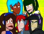 The AIs Group (Kinda Different Style) by InsomniaQueen