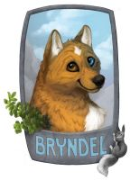 Badge - Bryndel by OnyxSerpent