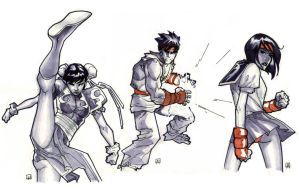 Street Fighter Sketches by MahmudAsrar