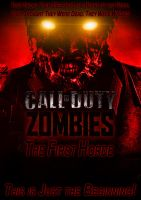 CoD Zombies Unofficial Poster by D0ct0rrR1cht0f3n