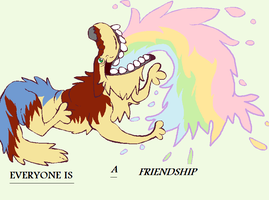 EVERYONE IS A FRIENDSHIP by Doodle-Dreams