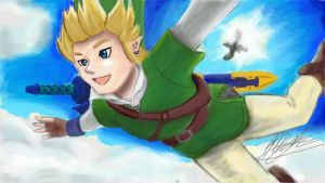 Skydive Link by Ronron-Senpai