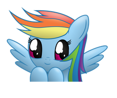 Rainbow Dash - Kawaii Project #1 by PonyHD