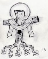 """Deeply Rooted"" Tattoo Design by viperfan14"