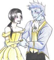 Beauty and the Beast by sweetlittlecherry