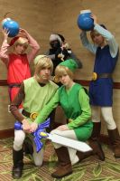 Toon Link Army by 17965