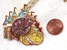Disney Beauty and the Beast Belle Necklace by elllenjean