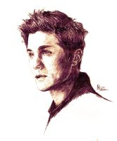 Logan Lerman by dariemkova