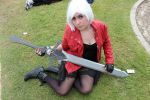A female Dante Cosplay II by DanteRedgraveSparda