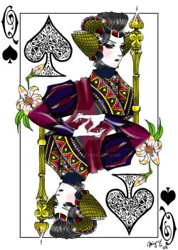 Queen of Spades by miyang