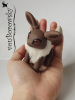 Eevee Posable Doll by vonBorowsky