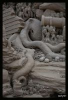 Shipwrecked Octopus by sculptin