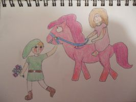 BEN Drowned X Sally by whispersofdragons