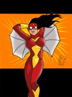 SpiderWoman by Ari-Spike-Nadelman