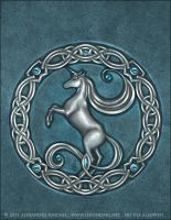 Unicorn Seal -Yabra I by AlexandraKnickel