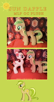 Sun Dapple: MLP OC Plush by Noxx-ious