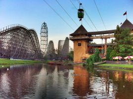 Six Flags Lakefront by towerpower123