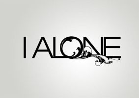 I Alone Logo by my-name-is-annie