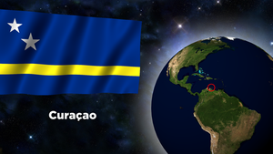 Flag Wallpaper - Curacao by darellnonis