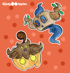 Boos and Bumps by Sandy--Apples