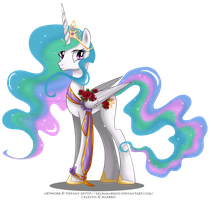 May Festival Pony - Celestia by selinmarsou