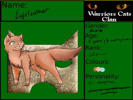 Eaglefeather Application for Warriors-Cats-Clans by Amerikat