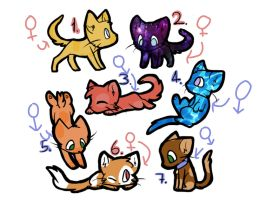Cat adopts (OPEN) by DenxyAdopts