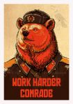 Work Harder Comrade! by pallanoph