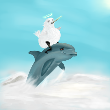 Berd's Higher Porpoise by AllEagerThumbs