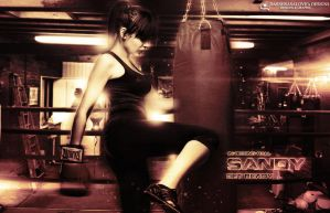 SANDY in boxing 2012 by DARSHSASALOVE