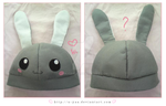 Bunny hat by TokiCrafts