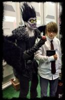deathnote cosplay for comiccon (im light :D ) by pictobrony