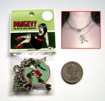 Roller Girl necklace by paigey