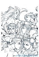 street fighter babes by M09