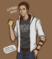 AC: Demond's Spare Shirt by MrGrayLetters