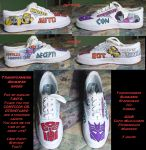 Transformers Animated Shoes by Demyrie