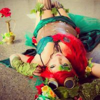 Poison Ivy Steampunk by gaghielart