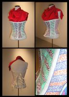 Paper Corset by DustedRose