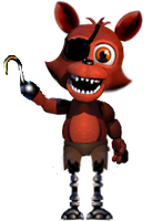 Adventure Foxy Full Body by FredbearTheAnimatron