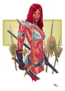 Red Sonja by Elliscarlos