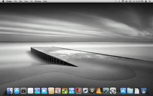 Mac OS X desktop screenshot by ibnadem