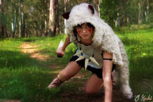 Mononoke San - Princess Mononoke by dOoChann