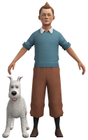 Tintin and Snowy by TRDaz