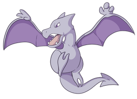 142: Aerodactyl by CollectionOfWhiskers